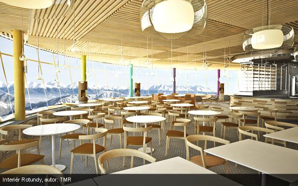 Nová Rotunda Chopok - Interiér