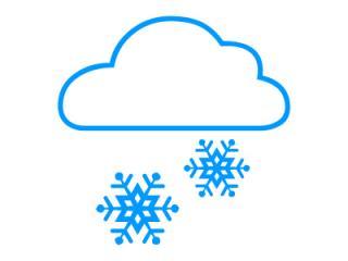 Slovensko čaká husté sneženie